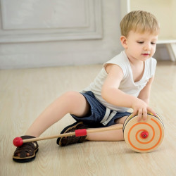 Rainbow Roll push toy - 53 CM