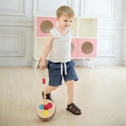 Jouet-en-bois-roulettes-pour-enfant