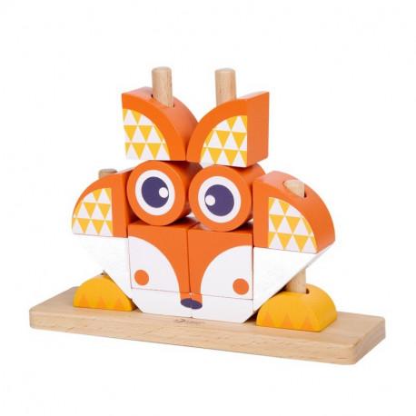 Puzzle-Vertical-Renard-jouet-en-bois