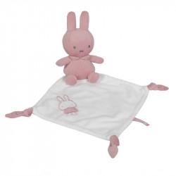 Miffy Comforter - pink babyrib