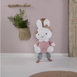 Peluche Miffy Rose Velours - 60cm