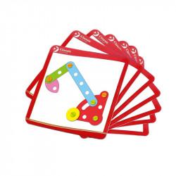 set-de-construction-cartes-d-apprentissage