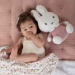 Miffy velvet - 32 cm - pink