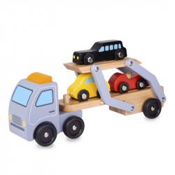 Camion en bois transporteur de voitures