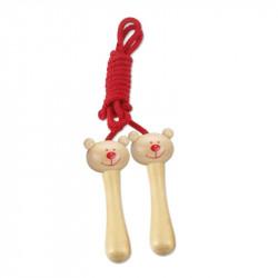 Bear skipping rope