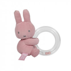 Miffy Rattle - Pink Babyrib