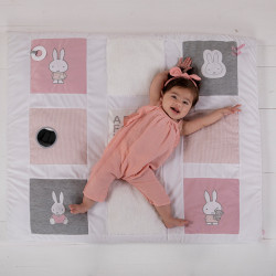 Play mat Miffy striped jersey