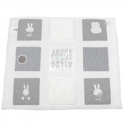 Miffy Play mat - striped jersey