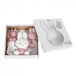 Miffy gift set - pink babyrib