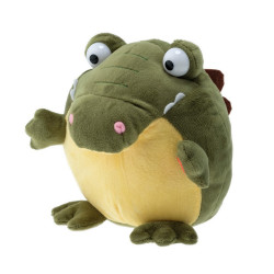 Interactive Giggle soft toy - croco