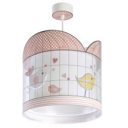 Hanging Lamp Stars PINK