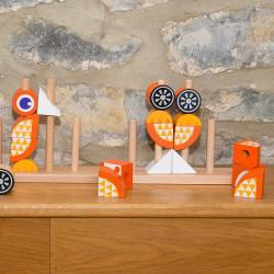 Puzzle-Vertical-Renard-jouet-en-bois-a-offrir