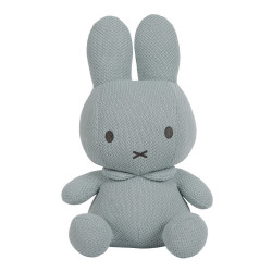 Miffy soft toy 20 cm - almond green knit