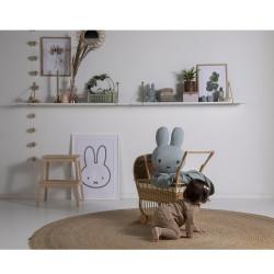 Miffy velvet - 60cm - pink