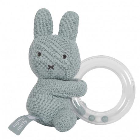 hochet-vert-amande-tricot-Miffy