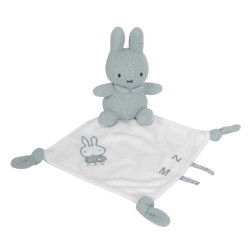 Miffy Comforter - almond green knit