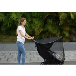 Refreshing stroller mattress