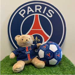 peluche-psg-ours-gaston-28cm-ballon-football