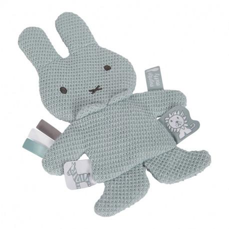 Miffy Comforter - almond green knit