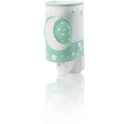 Veilleuse phosphorescente vert - Moonlight - Dalber