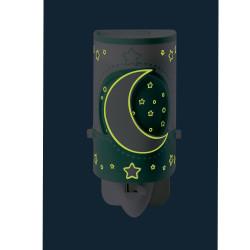 Veilleuse phosphorescente vert - Moonlight - Dalber nuit