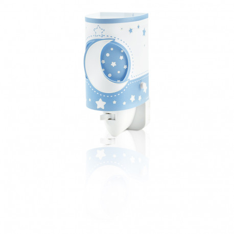 Veilleuse phosphorescente bleu - Moonlight - Dalber