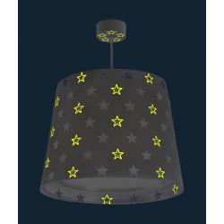 Suspension lampe - Stars - Gris