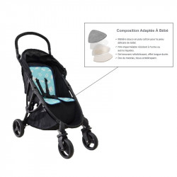 Refreshing mattress for stroller