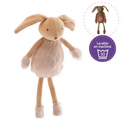 Valentin the Bunny light-up and musical soft toy