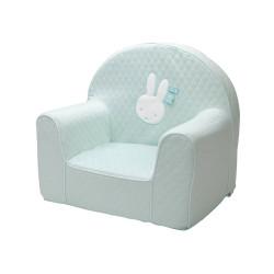fauteuil bébé miffy mint