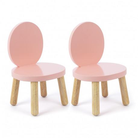 chaise-ovaline-rose-pour-tout-petits
