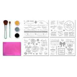 Boîte Tatouages Inspirational -Glitza