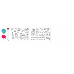 Mini Kit Tatouages Exotiques - Glitza