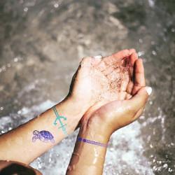 Kit créatif tatouage thème Océan