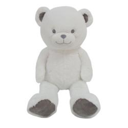 Gaston-ours-blanc-peluche-géante cadeaux enfant