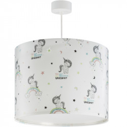 Suspension lampe Licorne