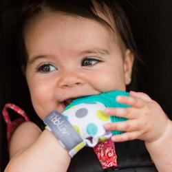 Mitaine de dentition pour bébé Lime