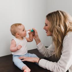 Sönik Brosse à dents sonique 2 étapes pour bébé