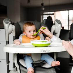 Platö Assiette chauffante pour bébé - Rose