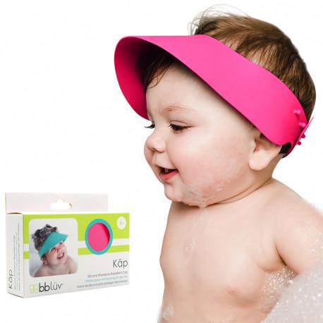 Käp Visière pare-shampoing en silicone – Rose
