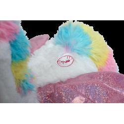 Peluche animée licorne