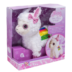 Interactive plush Popy the Lama