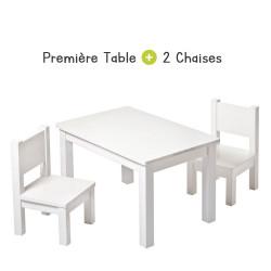 Ensemble de table et chaise bébé