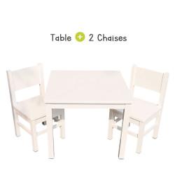 Kids Chair x2 - White