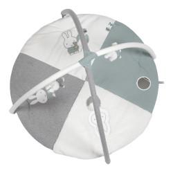Tapis d'activités Miffy Tricot Vert Amande 100cm