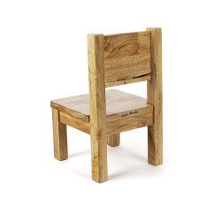 My first Chair - Color Natural wood