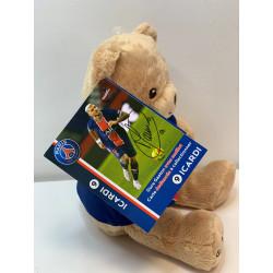 peluche-psg-icardi-ours-joueur-ballon-football