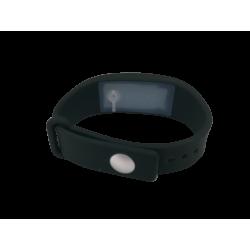 Bracelet distributeur de gel désinfectant - noir L
