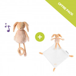 Valentin the Bunny musical soft toy