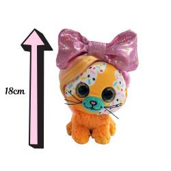 Sprinkle Bow Pet - Chiot beige et chocolat - 18cm